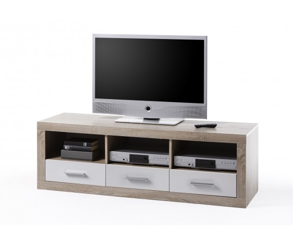 45 646 68 can can lowboard tv regal kommode sideboard eiche s gerau ca 147 cm breit hifi. Black Bedroom Furniture Sets. Home Design Ideas
