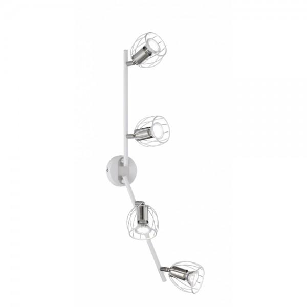 Strahler Lampe Leuchte Evian weiss matt #15289