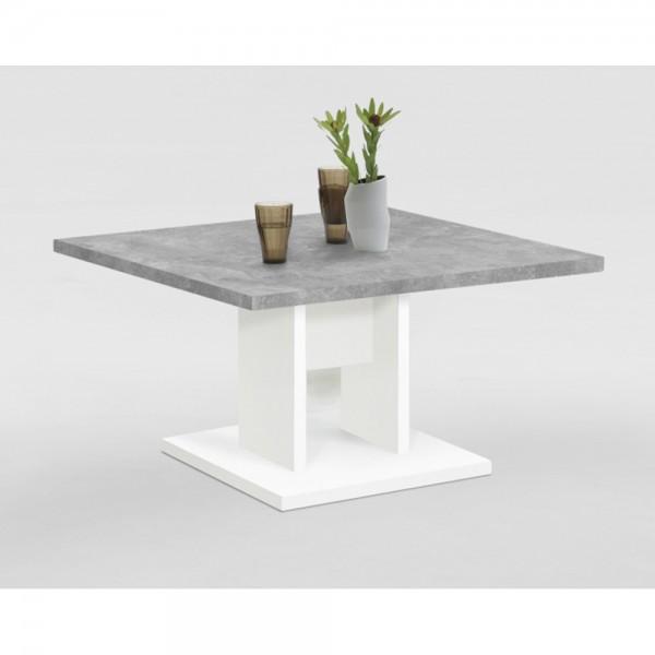 12345 BANDOL Weiss / Beton grau Tisch Co #13374