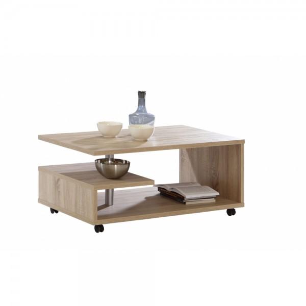 bl1t01 d30 bailey eiche s gerau nb auf rollen couchtisch beistelltisch wohnzimmertisch ca 105. Black Bedroom Furniture Sets. Home Design Ideas