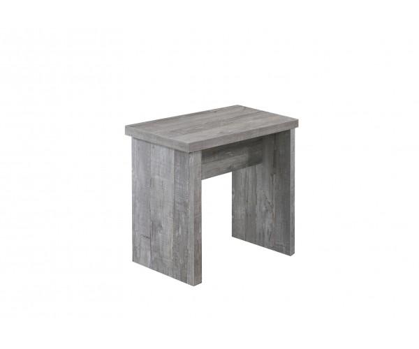 0585/45 Bank 45 beton Optik Hocker Sitzh #8739