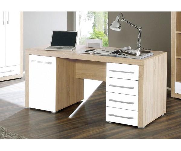 Schreibtisch PC-Tisch Arbeitstisch Bürotisch Eich #4357