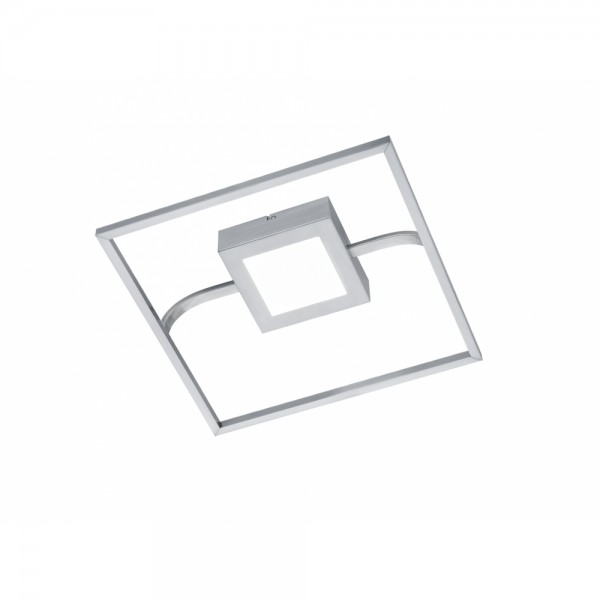 Deckenleuchte Deckenlampe Sambo Nickel m #15051