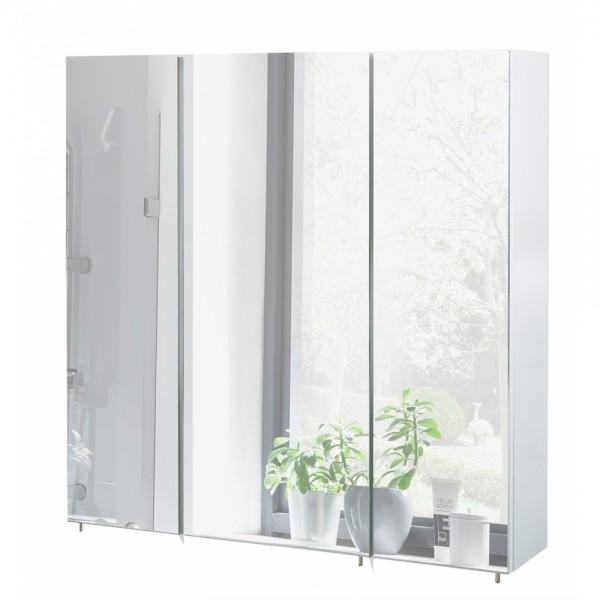 134106 Sps7001 Basic Weiß Glanz Spiegelschrank Badschrank