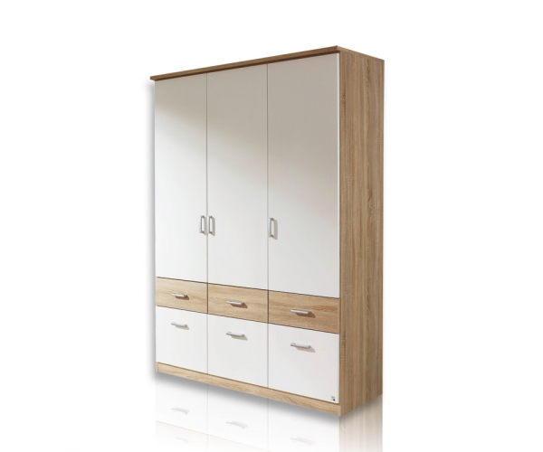 ap691 or 96 bremen extra 3trg kleiderschrank jugendzimmerschrank schrank in eiche s gerau dekor. Black Bedroom Furniture Sets. Home Design Ideas