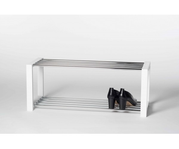 Regal Garderobe Schuhregal Schuhablage Luis weiss  #4085