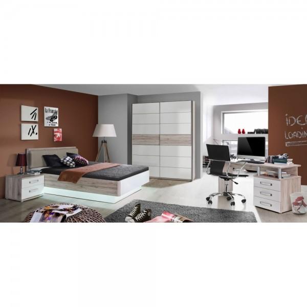 Jugendzimmer 4-teilig Rondino bestehend aus Bett 1 #15738
