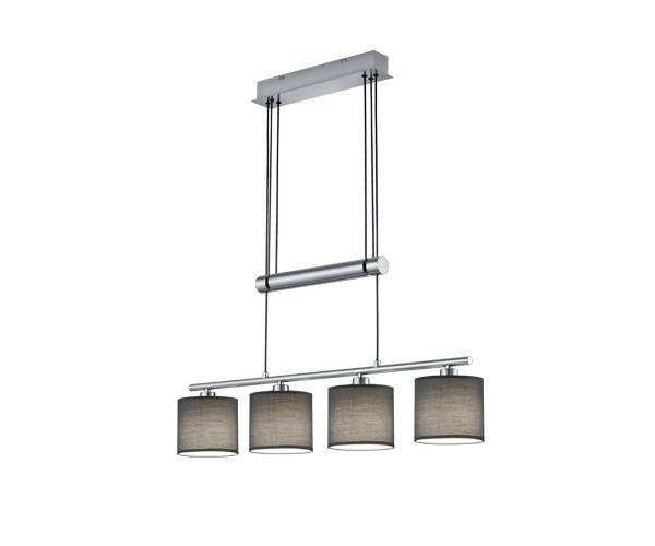 305400411 garda pendelleuchte leuchte lampe deckenlampe 40 w grau pendelleuchten lampen. Black Bedroom Furniture Sets. Home Design Ideas