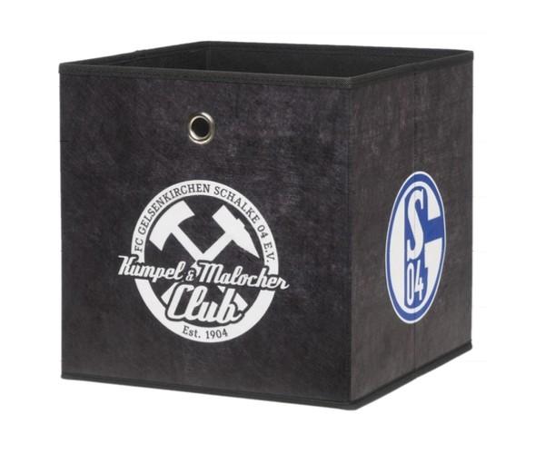 002143 FC Schalke 04 Faltbox Faltkorb Ko #7379