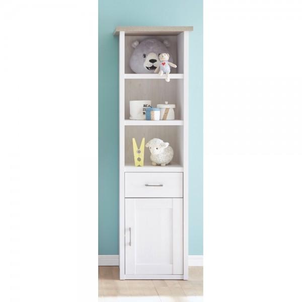 35 262 b5 luca regal standregal babyzimmer holzregal pinie nb wei tr ffel ca 60 cm breit. Black Bedroom Furniture Sets. Home Design Ideas