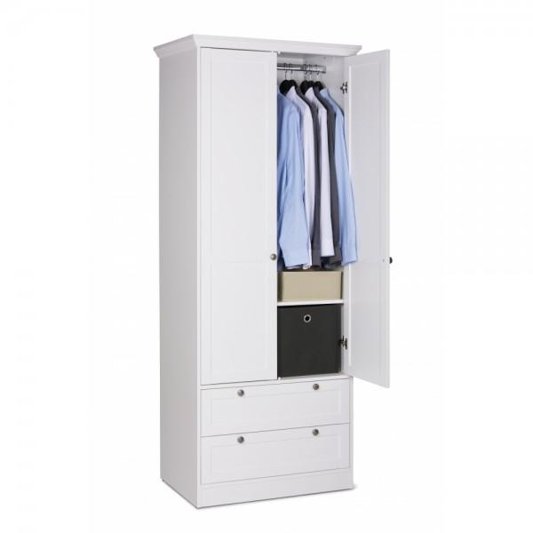 001737 Landwood 14 Kleiderschrank Stauraumschrank