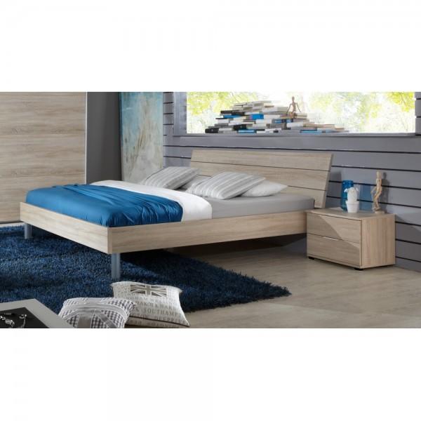 K27-290+K35-845 Easy Beds Eiche Saegerau #10491