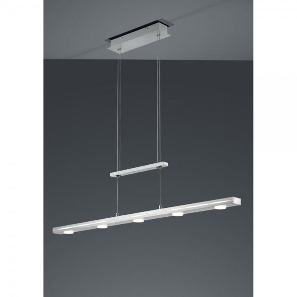 320910111 LUGANO LED Pendelleuchte Leuchte Lampe Deckenlampe 18 W grau