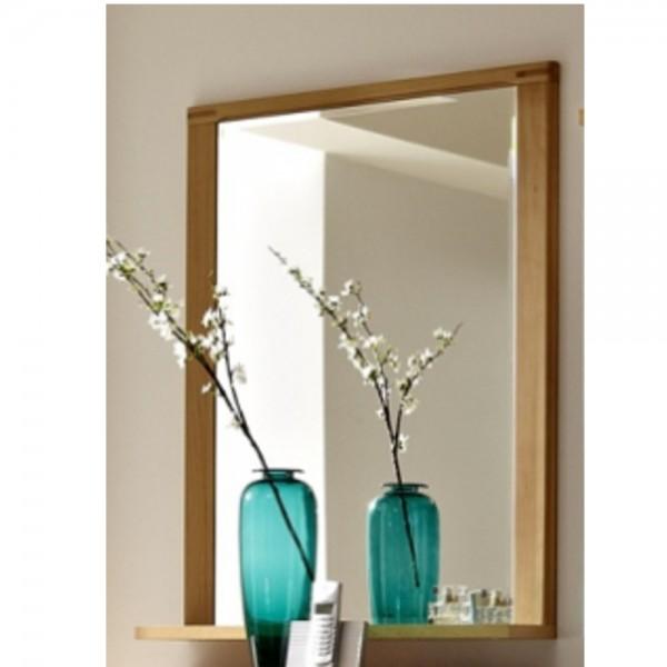 3205ff50 inkana kernbuche teilmassiv spiegel wandspiegel mit ablage ca 74 cm breit spiegel. Black Bedroom Furniture Sets. Home Design Ideas