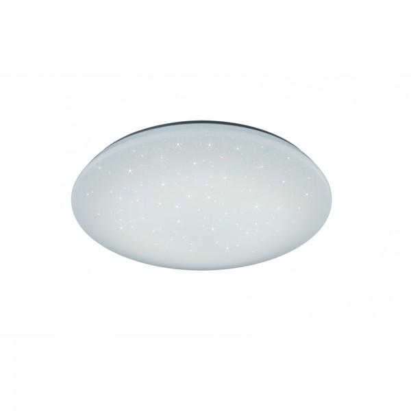676010100 Fuji Led Deckenleuchte Lampe 40 W 74 Cm Weiß Dimmbar Mit Fernbedienung Starlighteffekt